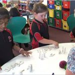 Children in New Zealand Classroom