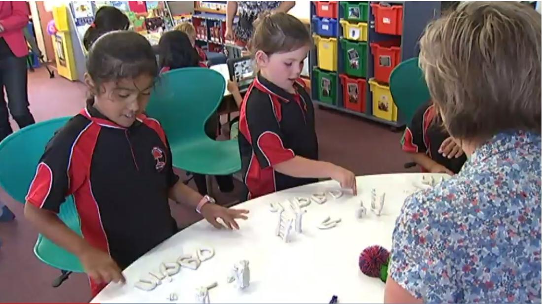 Children in New Zealand Classroom
